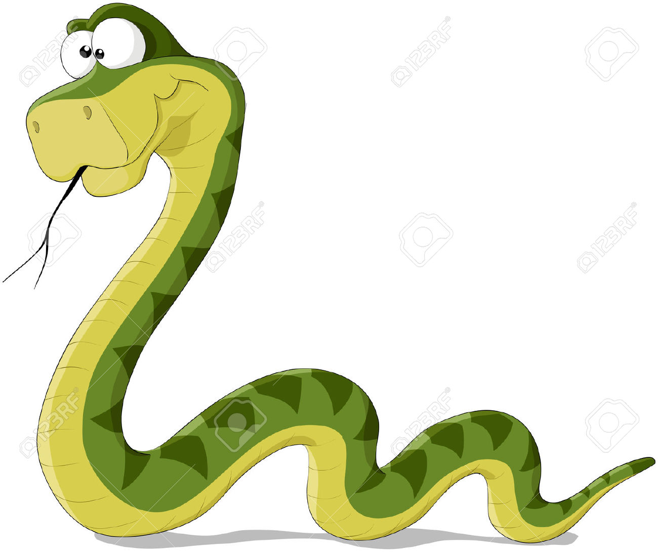 Serpent clipart forest animal >  For Images camping