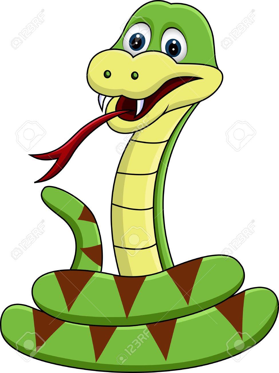 Reptile clipart funny #1