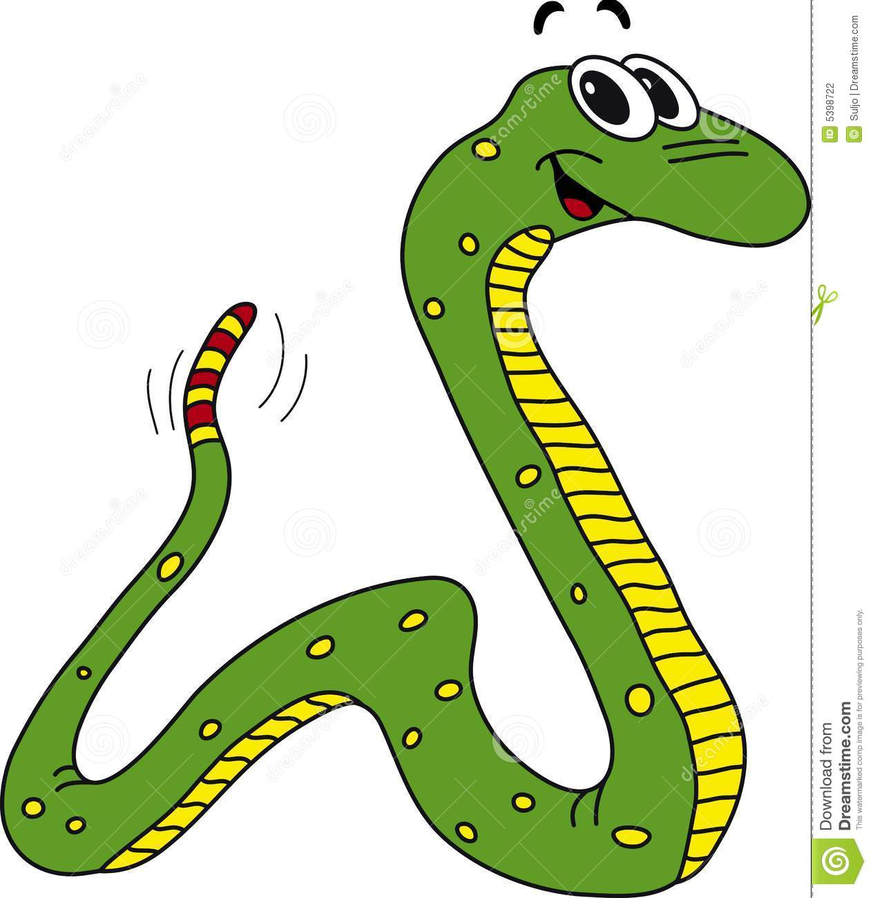 Smooth Green Snake clipart friendly Snakes Free Clipart Clip snake%20clipart
