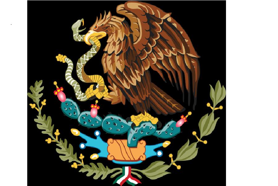 Aztec clipart mexican eagle Black  Images Mexico Eagle