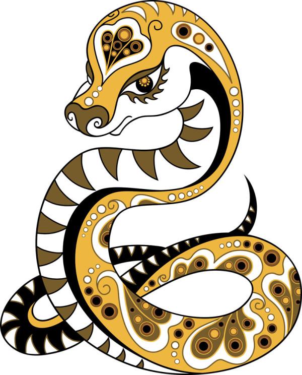 Serpent clipart serpiente 2017 para La Horóscopo chino