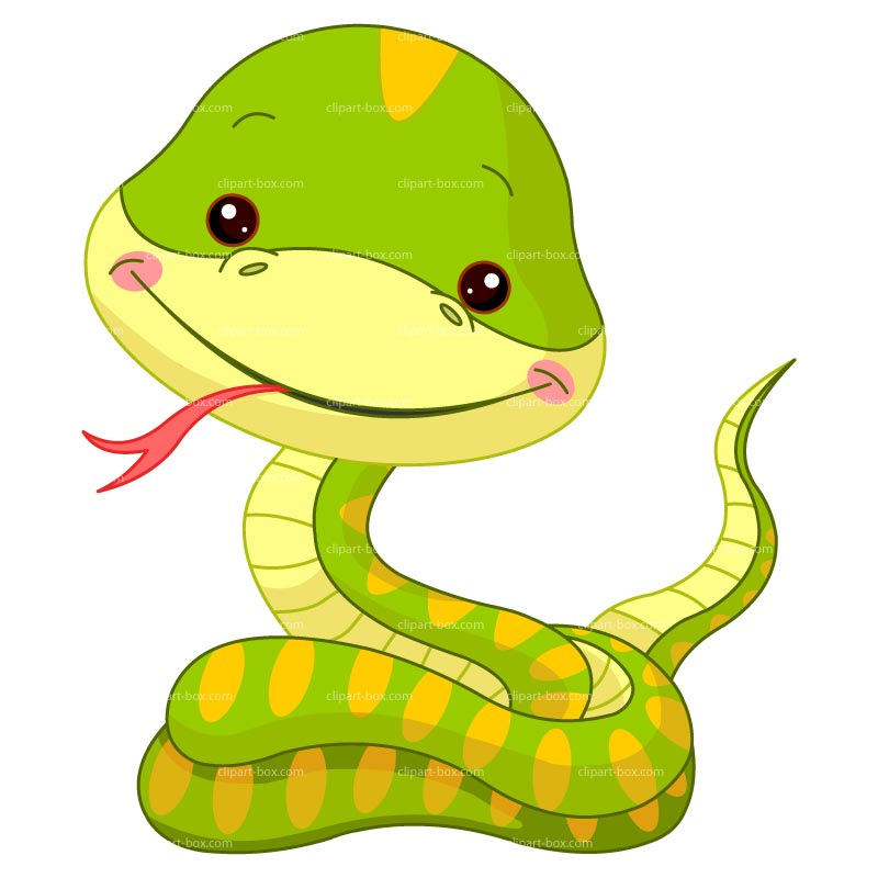 Serpent clipart simple cartoon Snake Woodland SNAKE design FUNNY