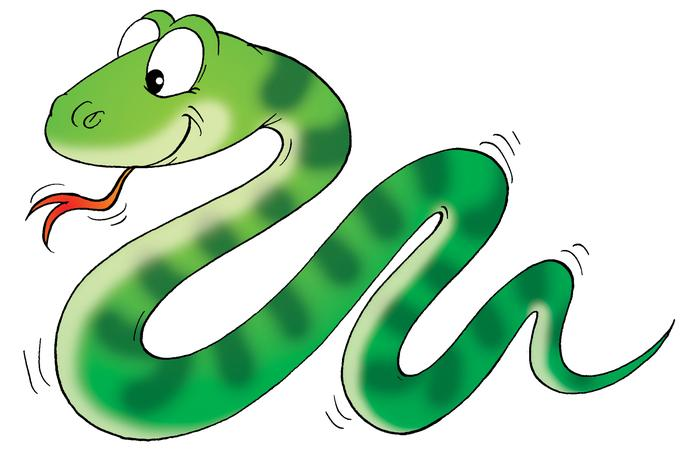 Boa clipart pet snake Page images Cartoon  snakes