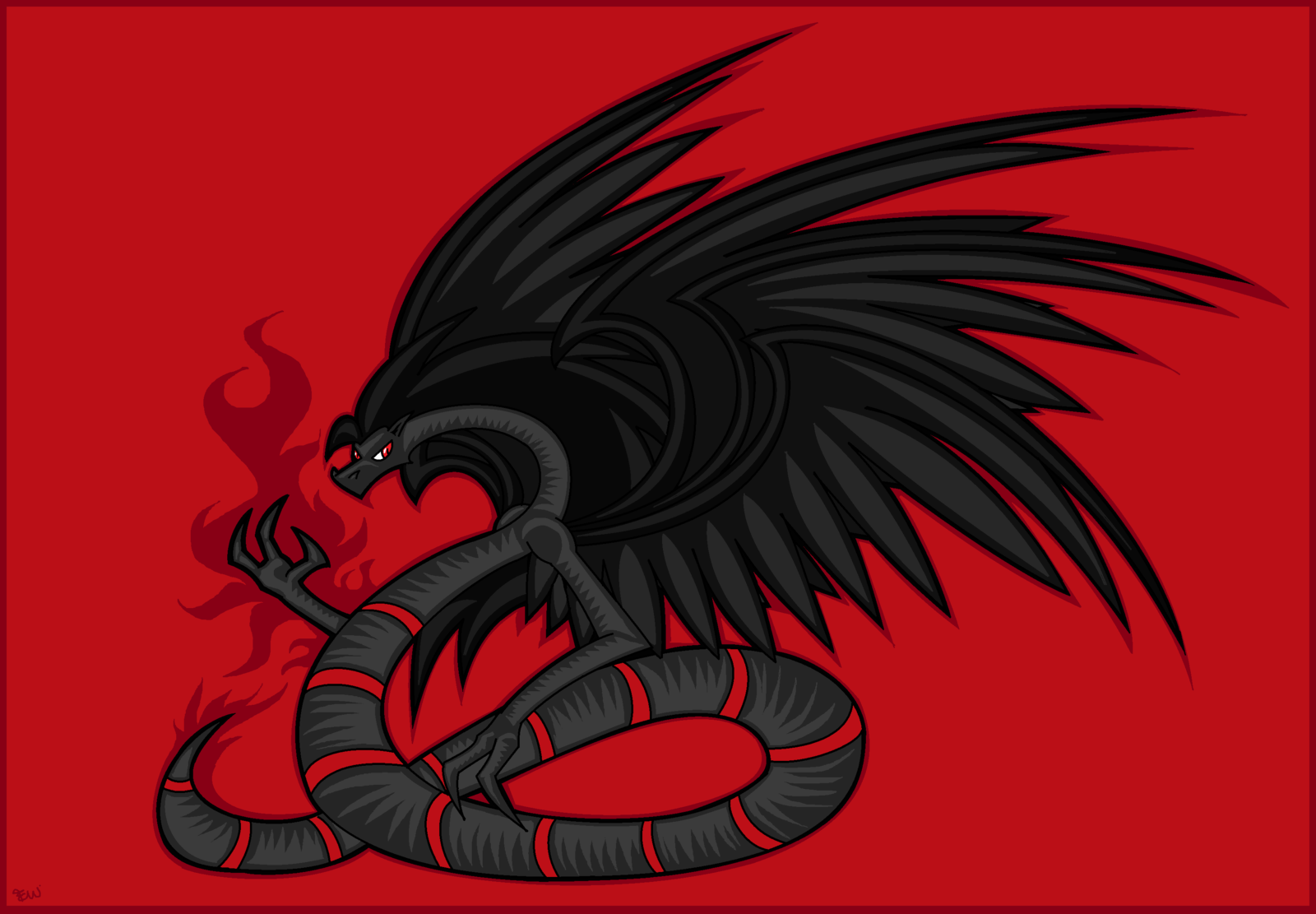 Serpent clipart six Winged 40 The Serpent by