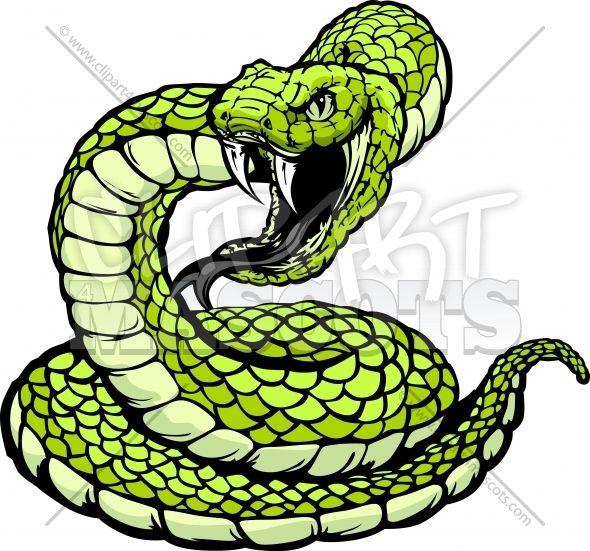 Black Mamba clipart coiled snake Mascot Image images Vector Pinterest
