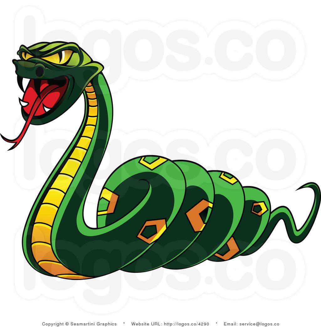 Rattlesnake clipart mean #3