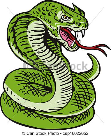 Serpent clipart snake head Of csp16022652 Snake of cobra