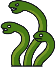 Serpent clipart three Is serpent gods in or