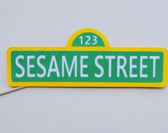 Sesam Street clipart light pole Street street Party Sesame Sesame