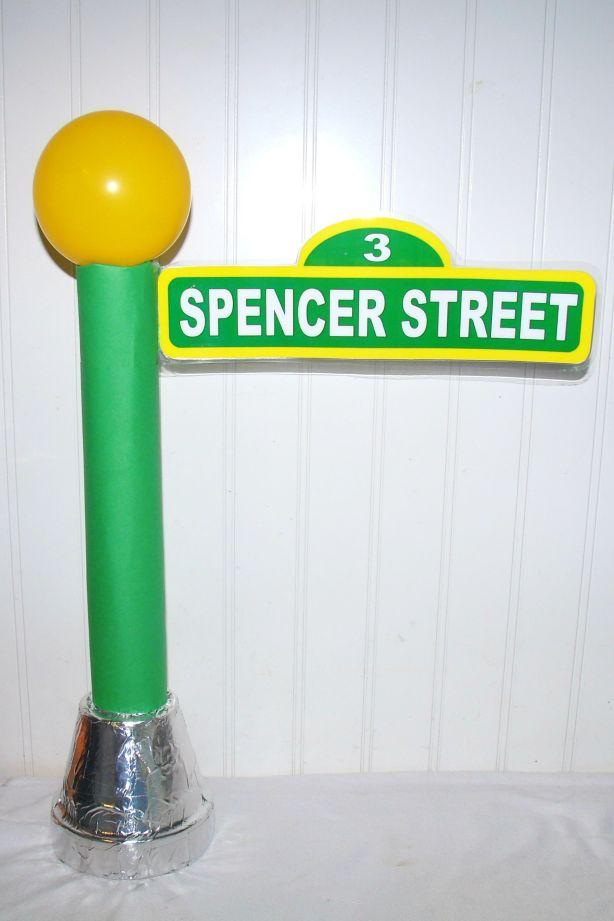 Sesam Street clipart light pole Street  Sesame Party Sesame