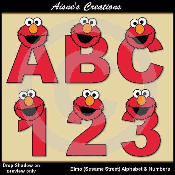 Sesame Street clipart alphabet Clip Letters Graphics Clip Alphabet