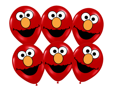 Sesame Street clipart balloon  Street 1 Faces Image