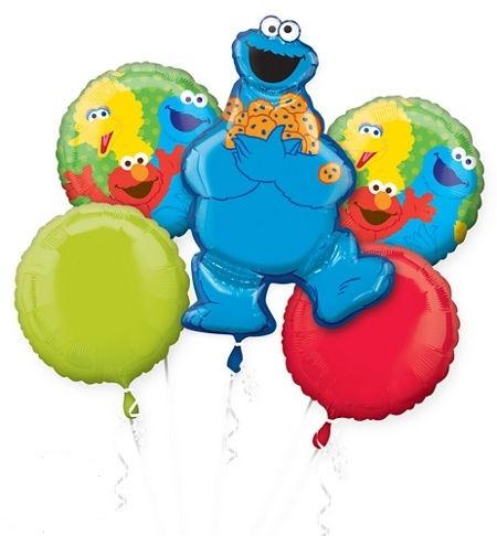 Sesame Street clipart balloon Monster Vancouver  Balloons Balloons