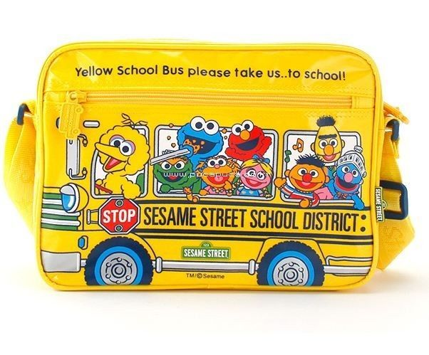Sesame Street clipart bus Boys Details Bag Street Girls