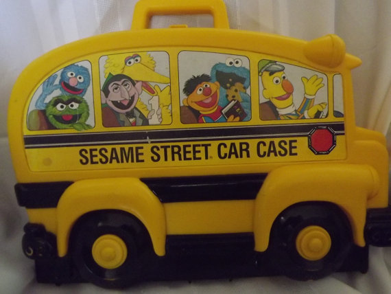 Sesame Street clipart bus Die  Car Sesame Cast