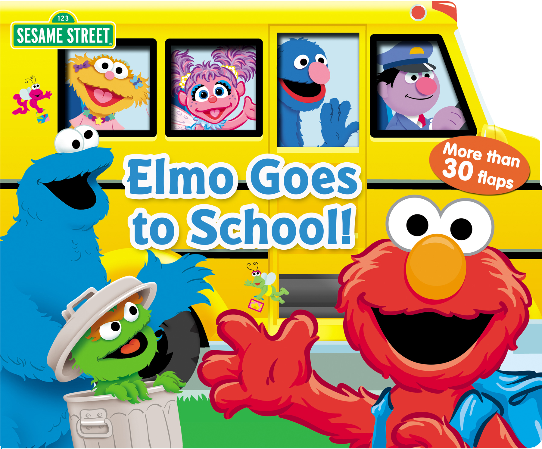 Sesame Street clipart bus School! Book Goes (jpg): Sesame