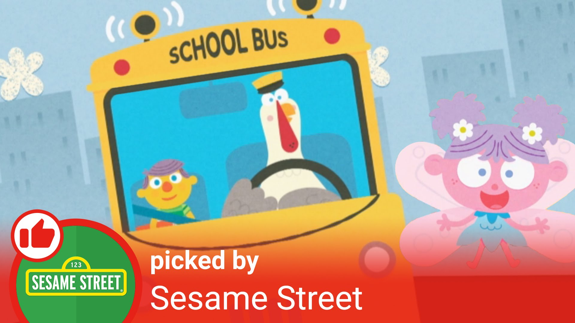 Sesame Street clipart bus  YouTube Wheels the Street: