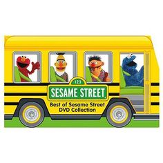Sesame Street clipart bus Packaging) The (School Sesame Sesame