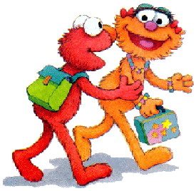 Sesame Street clipart cartoon Sesame 263564 Art street street