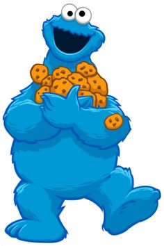 Cookie Monster clipart transparent Kindergaten cookie Sesame clipart clipart