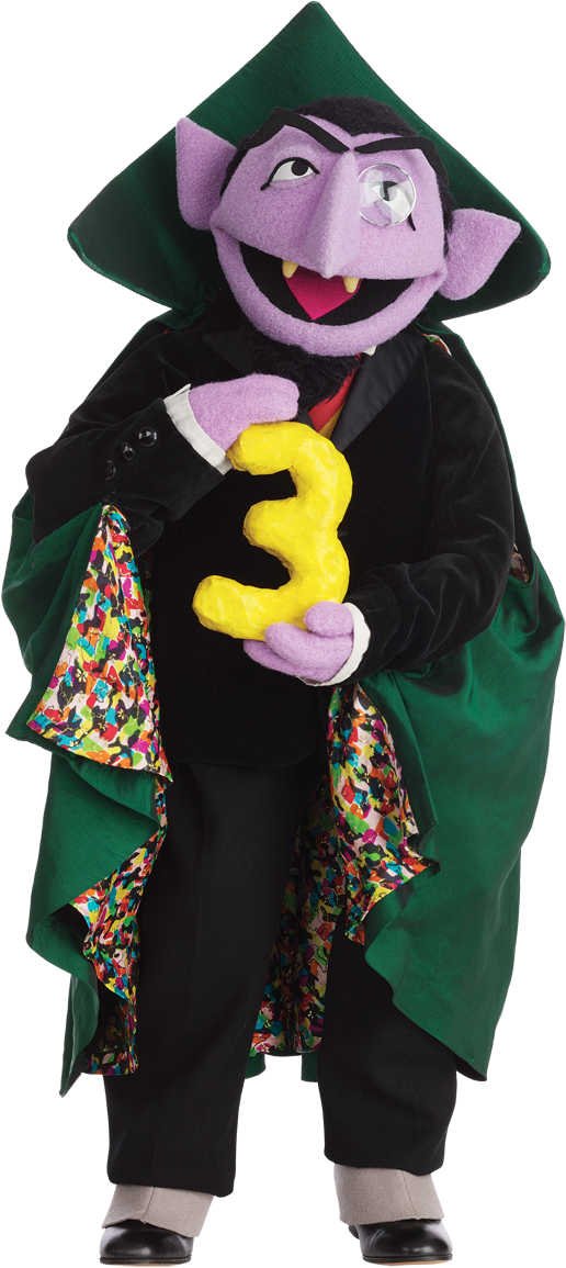 Sesame Street clipart count dracula Count Information Muppet Hub Image