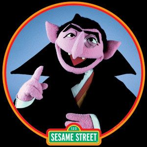 Sesame Street clipart count dracula From Pinterest count the count