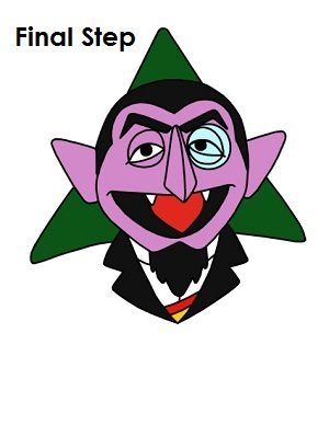Sesame Street clipart count dracula Count to How Street Step