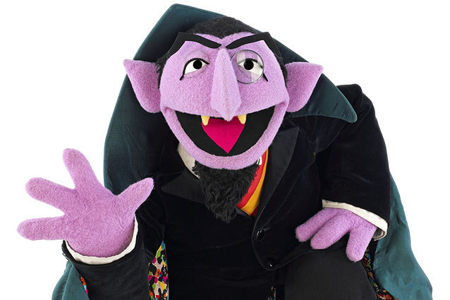 Sesame Street clipart count dracula Until known Nelson by is