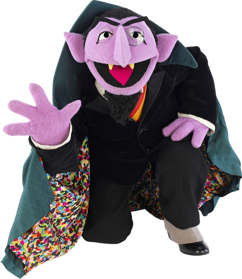 Sesame Street clipart count dracula Of images guides com Coloring