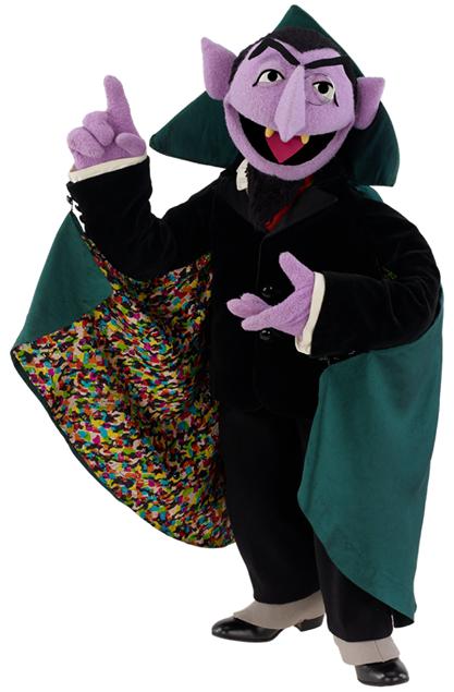 Sesam Street clipart count von count Count FANDOM von Muppet Count