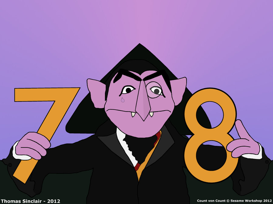 Sesam Street clipart count von count Countvoncount by 36 78 on