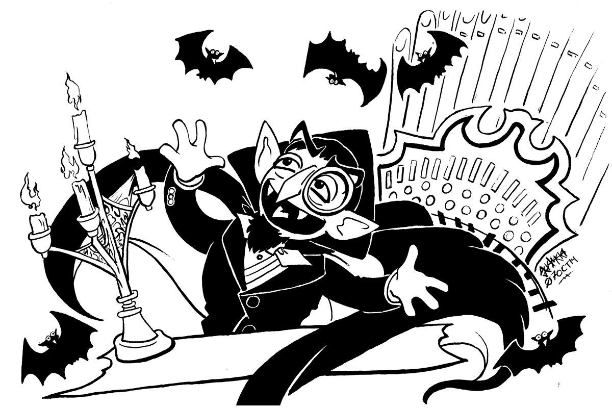 Sesam Street clipart count von count Von Drawing Von Batty Count