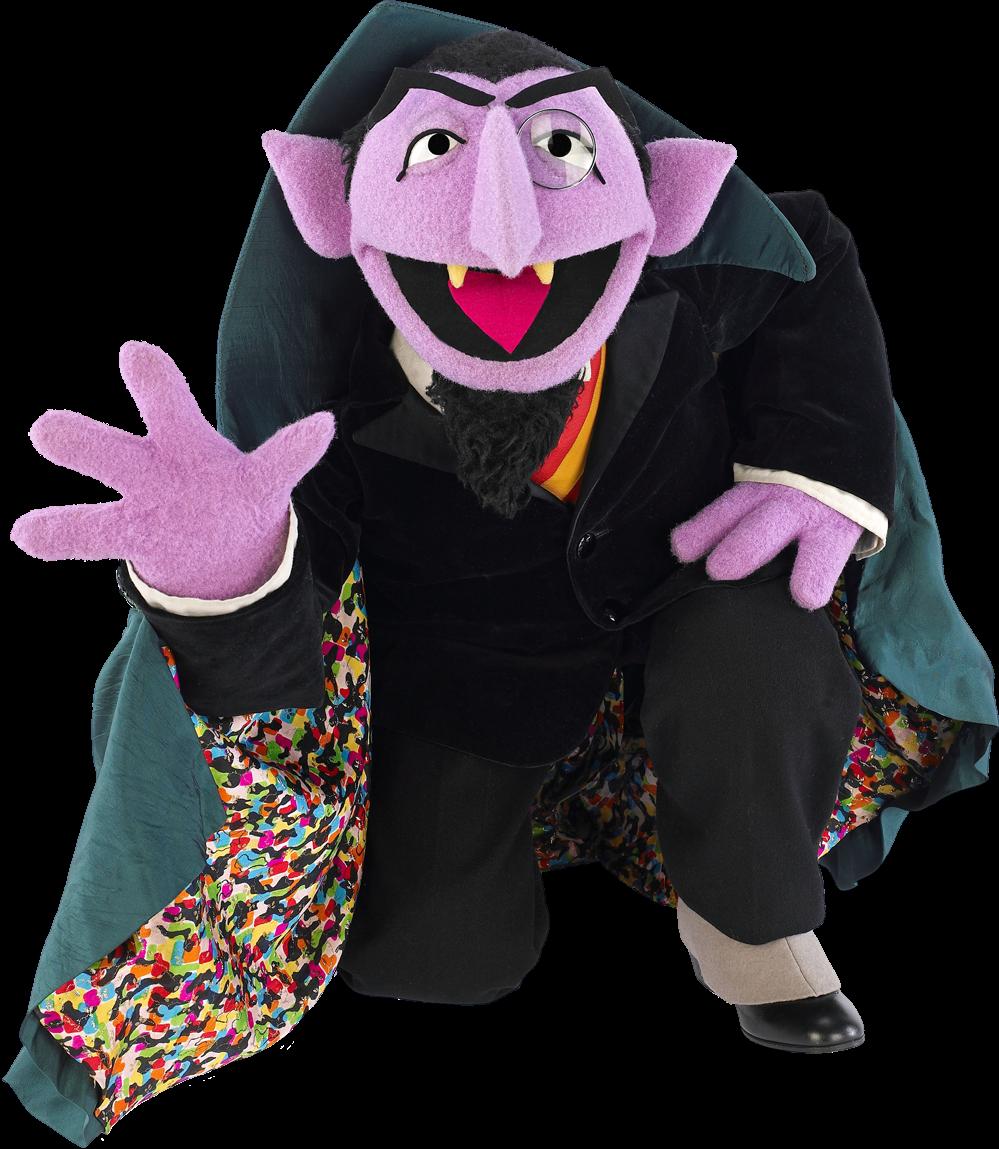 Sesam Street clipart count von count Streets characters von von Count