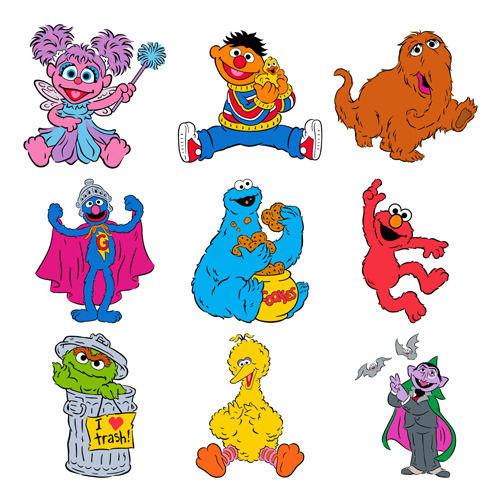 Sesame Street clipart hoola hoop Sesame w/ Cartridge Cricut Details