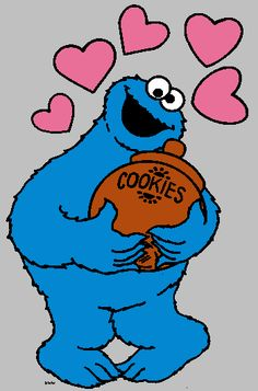 Sesame Street clipart hoola hoop Character Tattly available Cookie Monster