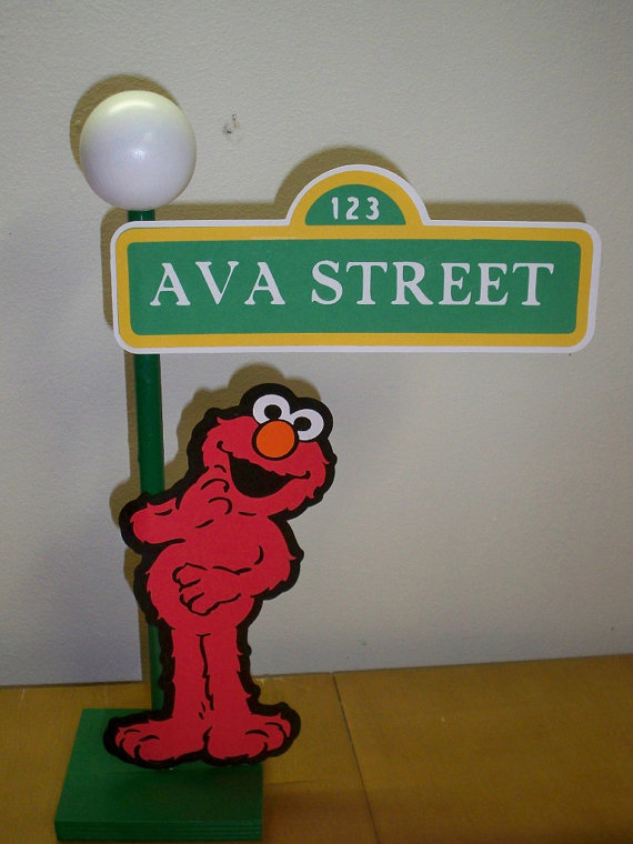 Sesam Street clipart light pole Street for Lamp Decoration Sesame