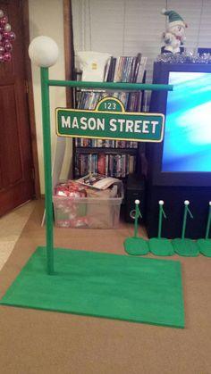 Sesame Street clipart light post Street Street Sesame my light