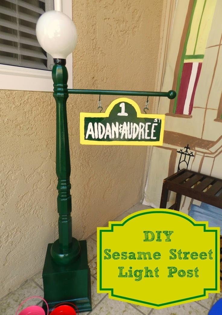 Sesame Street clipart light post Best crafts 25+ Sesame ideas