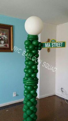 Sesame Street clipart light post Light  Cutout post Sesame