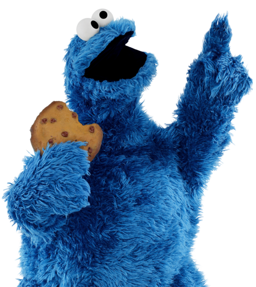 Cookie Monster clipart transparent Com Muppet Sesame Monster Art