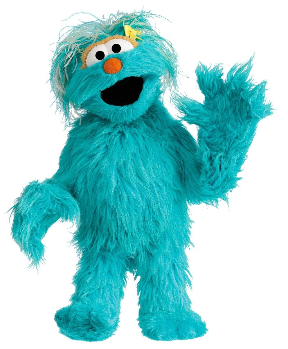 Sesam Street clipart telly monster Rosita2 powered Rosita Muppet by