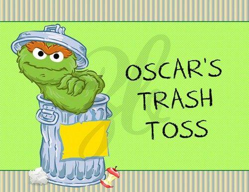 Trash clipart oscar the grouch Sesame Street the Door about