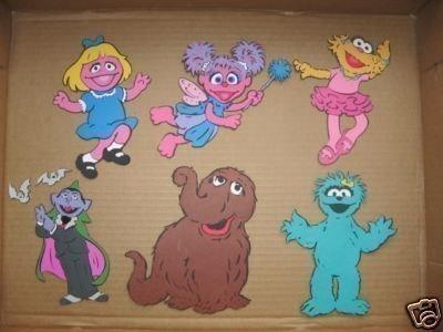 Sesame Street clipart prairie dawn And von snuffy  dawn
