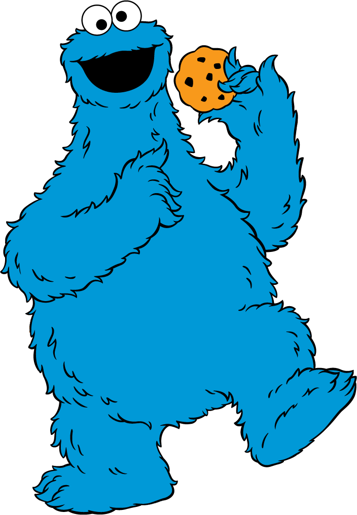 Cookie Monster clipart drawn #5