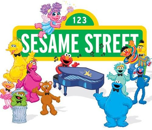 Sesame Street clipart vector Street images on Pinterest Sesame