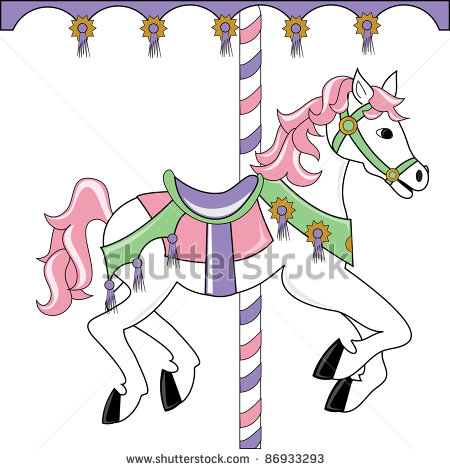 Simple clipart carousel Free Panda Clipart image Clipart