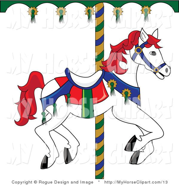 Carousel clipart creepy Best Art Clipart on Melodie