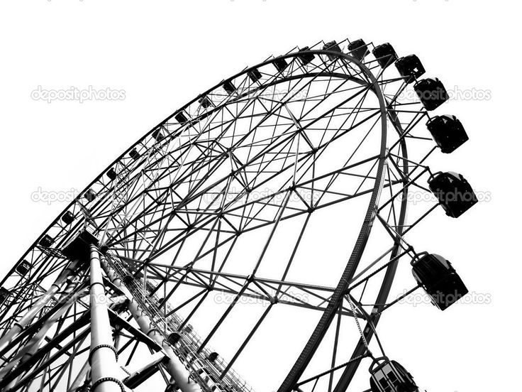 Drawn ferris wheel vintage Of 27 a on Ferris