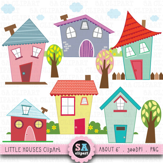 Hosue clipart cute Houses clipart houses Cute clipart