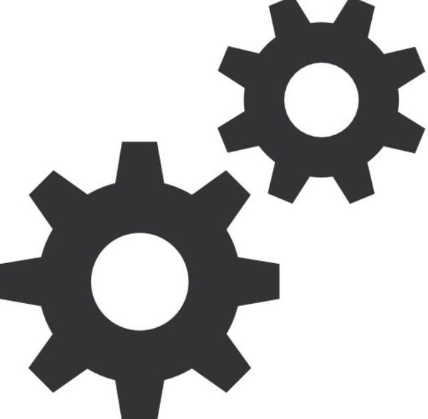 Setting clipart many gear Settings into  gear come